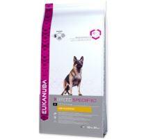 Eukanuba German Shepherd 12kg + Rinti Chicko kuře 500g ZDARMA