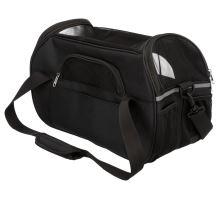 Cestovná taška ETHAN 19 x 28 x 42 cm, nylonová čierna