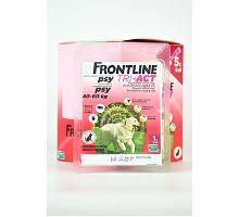 Frontline Tri-Act pre psov Spot-on XL (40-60 kg) 1 pip