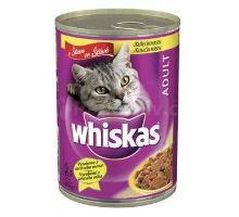 Whiskas konzerva hydinové v šťave 400g