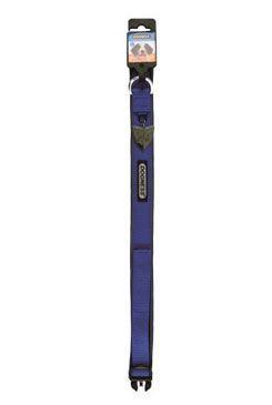 Obojok IMAC nylon modrý 56-68 / 3,8 cm