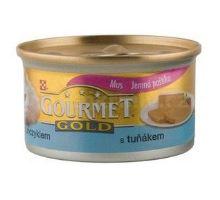 Gourmet Gold konzerva mačka jemná paštéta tuniak 85g VÝPREDAJ