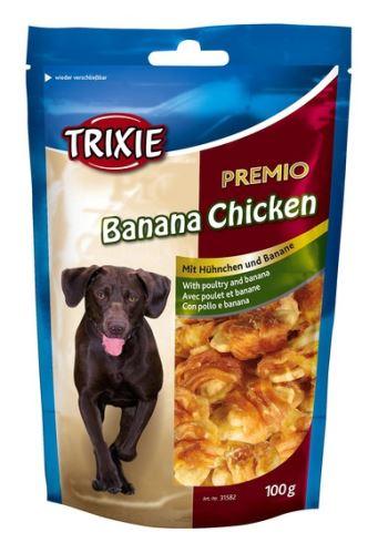 Premio BANANA & CHICKEN - kura s banánom 100g