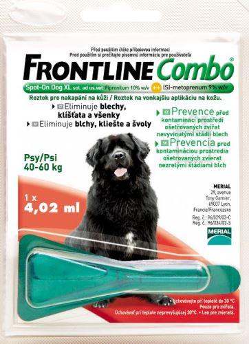 Frontline Combo Spot on Dog XL 1x1 pipeta 4.02ml
