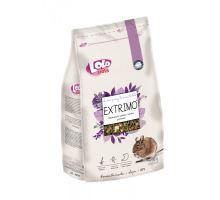 EXTRIMO kompletné krmivo pre osmáky v sáčku so zipsom 750 g