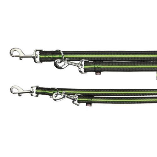 FUSION opasok, vodítko predlžovací L-XL 2 m / 25 mm - čierno-zelený