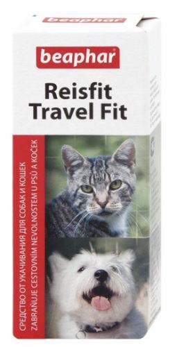Beaphar proti nevoľnosti Reisfit pes, mačka 10tbl