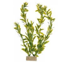 Plastové rastliny s podkladovým pieskom 30 cm