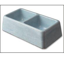 Dvojmiska betónová 2 x 0,1 l 1ks
