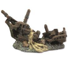 Dekorácie Vrak lode 22 cm 1ks
