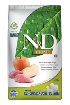 N & D PRIME DOG Adult M / L Boar & Apple 2,5kg