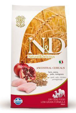 N & D Low Grain DOG Adult Mini Chicken & Pomegranate 2,5 kg