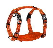 Alcott reflexné postroj pre psov oranžový