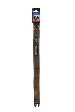 Obojok IMAC nylon hnedý 45-56 / 2,5 cm