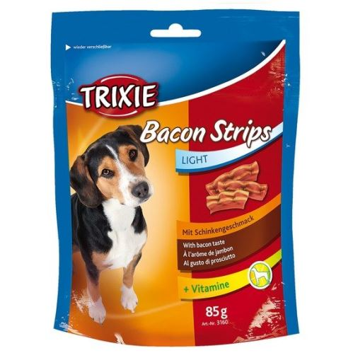 BACON STRIPS Light - slanina 85g