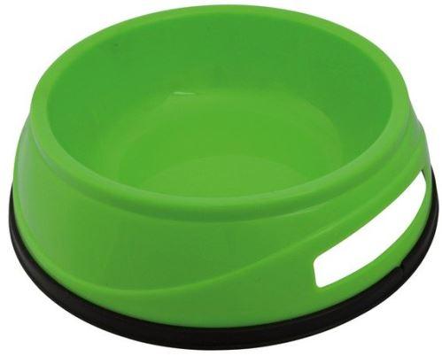 Plastová HEAVY miska s gumovým okrajom 0,75 l / 16 cm