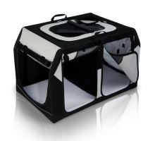 Transpor.nylon. box Vario DOUBLE 91x60x61 / 57 cm čierno-šedý