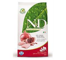 N & D Grain Free DOG Adult Chicken & Pomegranate 2,5 kg VÝPREDAJ