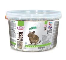 Lolo BASIC kompletné krmivo pre osmáky 3 L, 2 kg kýblik