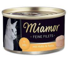 Miamor Cat Filet konzerva kura + cestoviny 100g