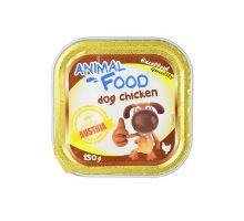 ANIMAL FOOD 150g konz.paštika pes kurča