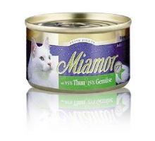 Miamor Cat Filet konzerva tuniak + zelenina100g