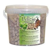 Pochúťka pre kone Delizia jablko 3kg vedro