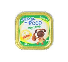 ANIMAL FOOD 150g konz.paštika pes jahňacie