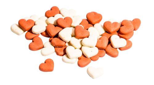 MINI HEARTS MIX STRAWBERRY jahodová srdiečka 1 kg