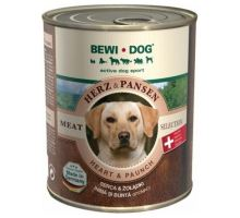 Bewi Dog Heart & Paunch 800g