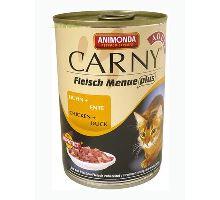 Animonda konzerva CARNY Adult - kura, kačica 400g