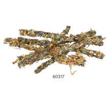 Tyčinky s mrkvou a okvetnými lístkami pre hlodavce, králiky 35 g