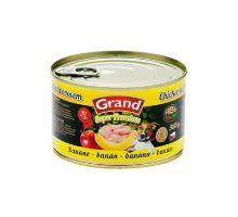 GRAND konz. pes kura / banán 380g