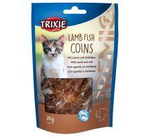 PREMIO Lamb Fish Coins - mince s jahňacím a treskou 20g