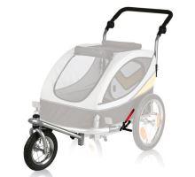 Predné koleso a držadlo k vozíku 24606, konverzie na behanie
