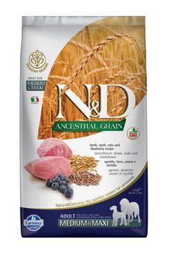 N & D LG DOG Adult M / L Lamb & Blueberry 12kg
