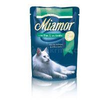Miamor Cat Filet vrecko tuniak + zelenina 100g