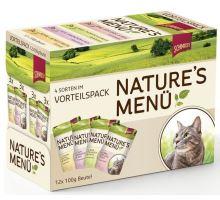 Schmusy Cat Nature Menu vrecko 4x3x100g multipack