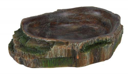 Terárijná miska na vodu a krmivo 10 x 2,5 x 7,5 cm