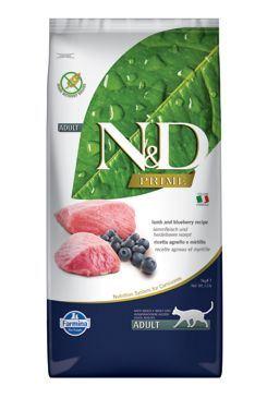 N & D PRIME CAT Adult Lamb & Blueberry 10kg