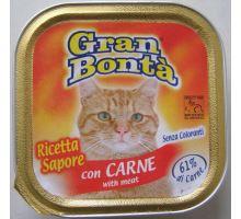 Gran Bonta paštéta s hovädzím mäsom pre mačky 100g