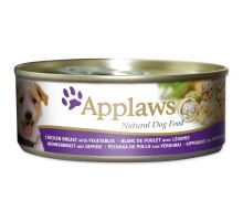 Applaws dog chicken, zelenina & rice 156g