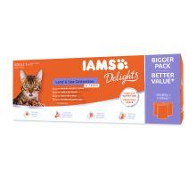 IAMS výber z morských a suchozemských más v omáčke multipack 4080g