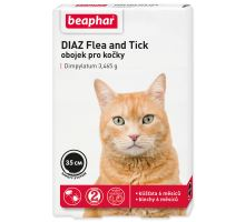 Obojok antiparazitných BEAPHAR DIAZ Flea and Tick 35 cm 1ks