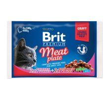 BRIT Premium Cat Meat Plate 400g