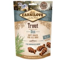 CARNILOVE Dog Semi Moist Snack Trout Enriched with Dill 200g