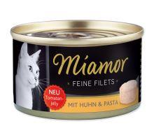 MIAMOR Feine Filets kura + cestoviny v želé 100g