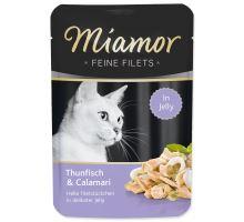 MIAMOR Feine Filets tuniak + kalamáre v želé 100g
