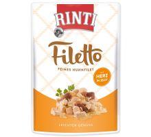Kapsička RINTI Filetto kura + kuracie srdce v želé