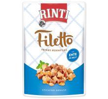 Kapsička RINTI Filetto kura + kačica v želé 100 g